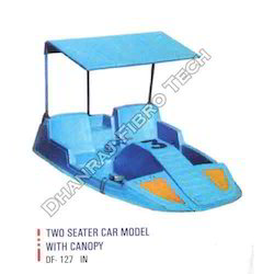 Two Seater Paddle Boat With Canopy