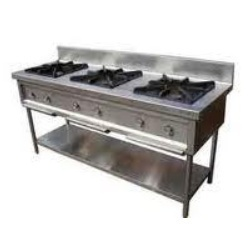 Three in One Burner Gas Range