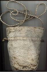 Beads Embroidery Bag