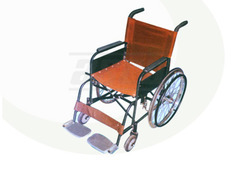 wheel chair non folding fixed seat