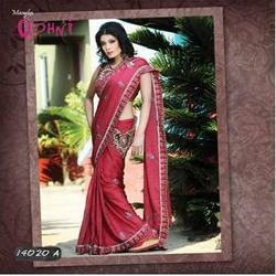 Beauteous Kamarband Saree