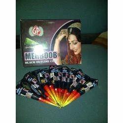 Mehboob Black Outline Henna Cone Paste