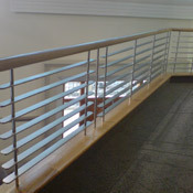 Stain Less Steel Railing