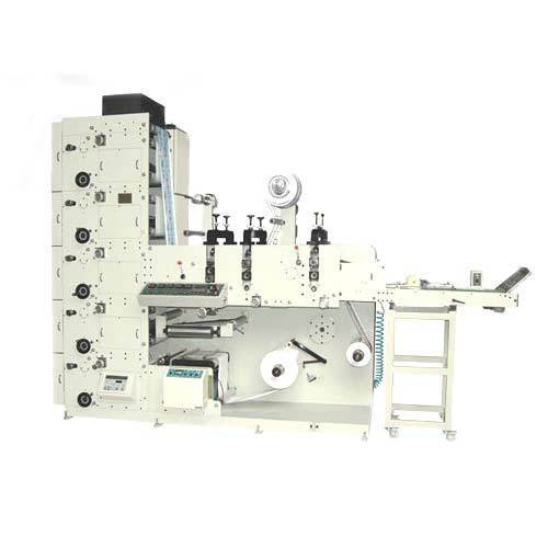 Label Printing & Converting Machines - Flexo Printing Machine With ...