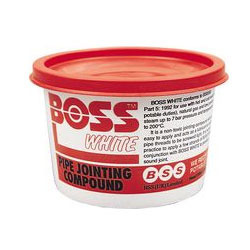 Tub Boss White Compound
