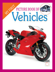 My First Picture Book Of  Vehicles