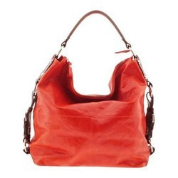 Indian Red Leather Ladies Handbag