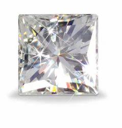 Princess Cut Moissanite Diamond