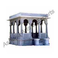 Stone Carved Gazebo