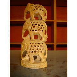 Wooden Elephant Tower