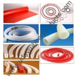 silicone rubber cords and profiles