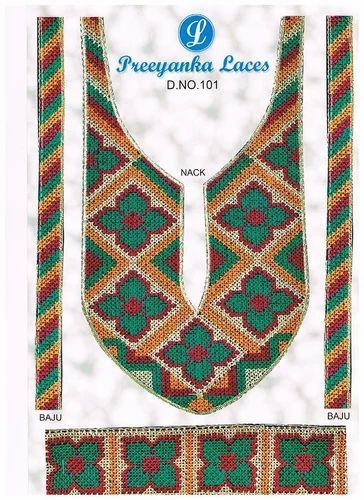 Designer Embroidered Neck Laces