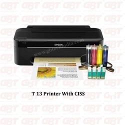 Ink Jet Printer & Cartridge