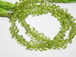 Peridot+Faceted+Pear+Briolettes
