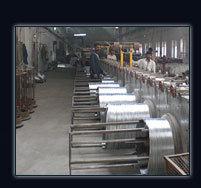 galvanized wire plant hot dip electro