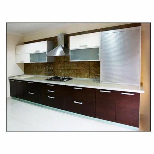 L Wooden Modular Kitchen Manufacturer: Manufacturer Of Modular Kitchen