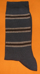 AOV /MN/ST/40B Men Stripe Socks