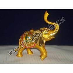 Golden Meena Elephant