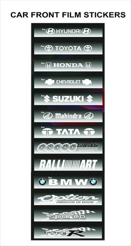 Car Front Film Stickers