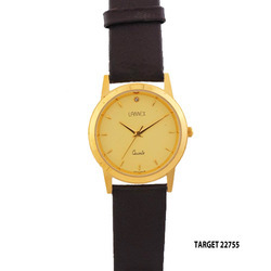 Men's Gold Dial Watch Ta