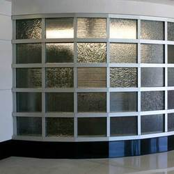 accoustical glass fabrication