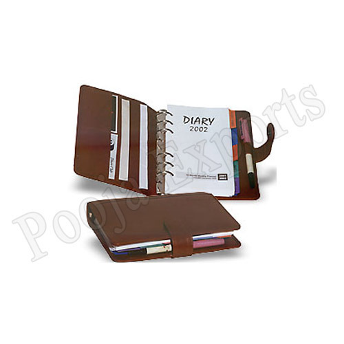 leather business planners business planners product code op140 exporter from mumbai bussiness planner