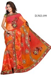 Tissue Fancy Sarees