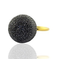 Black Diamond Ring Jewelry