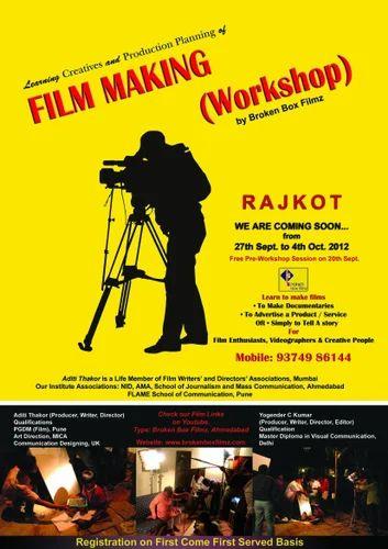 Film Workshop Cinematography Service Service Provider From Ahmedabad