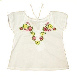 Kids Embroidery Tops