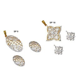 Gold Pendant Sets