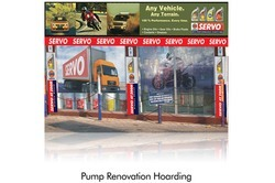 pump renovation hoarding