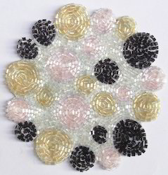 Beaded Coaster CO117
