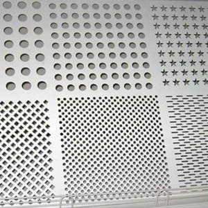 Stainless Steel 304 Perforated Plate