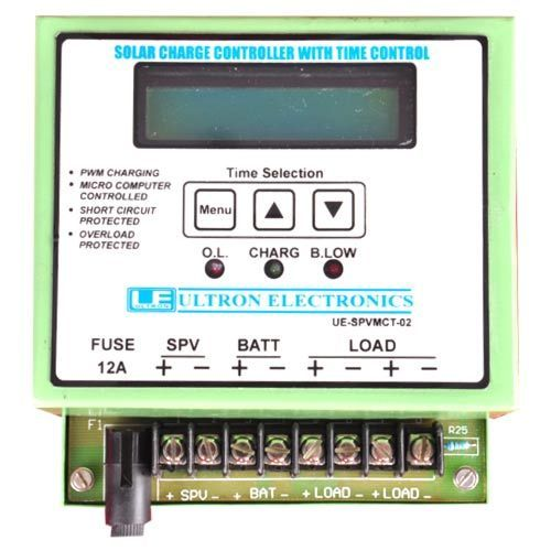 Ultra Sun Saver Solar Charge Controller With Timer