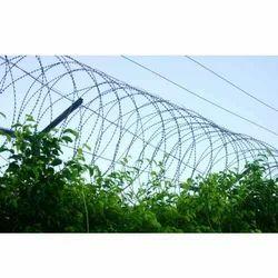 Fixing Of Sharp Razor Wire