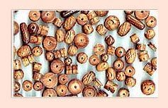 Polished Wooden Beads