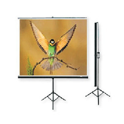 Projection Screen (With Metallic Stand)