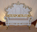Indian Wedding White Love Seater