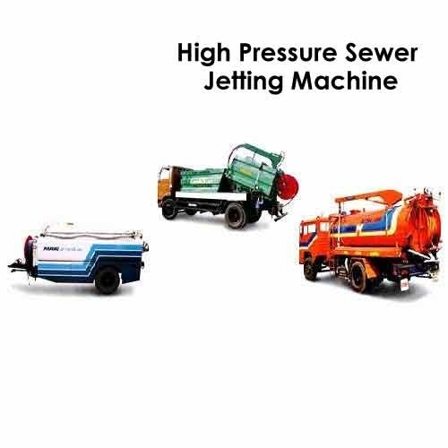High Pressure Sewer Jetting Machine