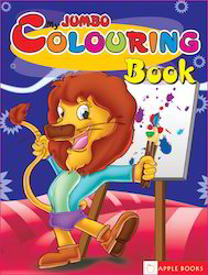 My Jumbo Coloring Book - Blue
