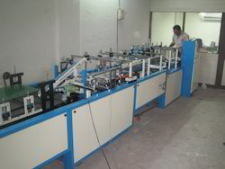 Box Pasting Machine