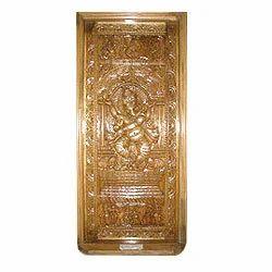 Carved Ganesha Wooden Doors