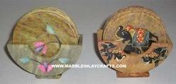 Stone Coaster Set