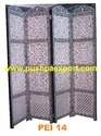 bone inlay screen partition