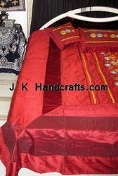 Hand Embroidered Beddings