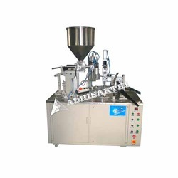 Ointment Tube Filling and Crimping Machine