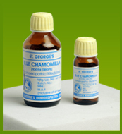 Blue Chamomilla Tooth Drops