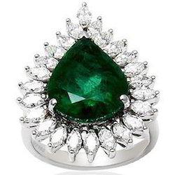 genuine emerald rings