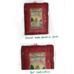 Paper Painting Conservation